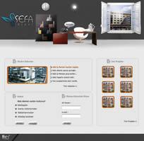 Sefa insaat web interfaces by omeruysal