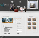 Sefa insaat web interfaces