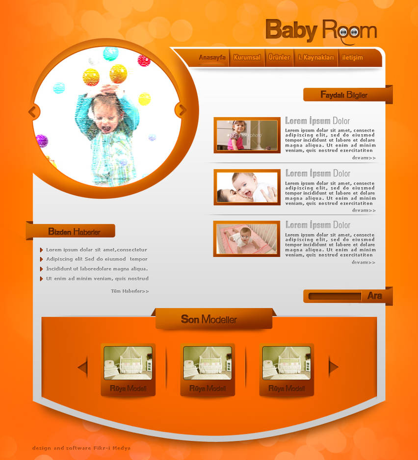 Baby Room by omeruysal