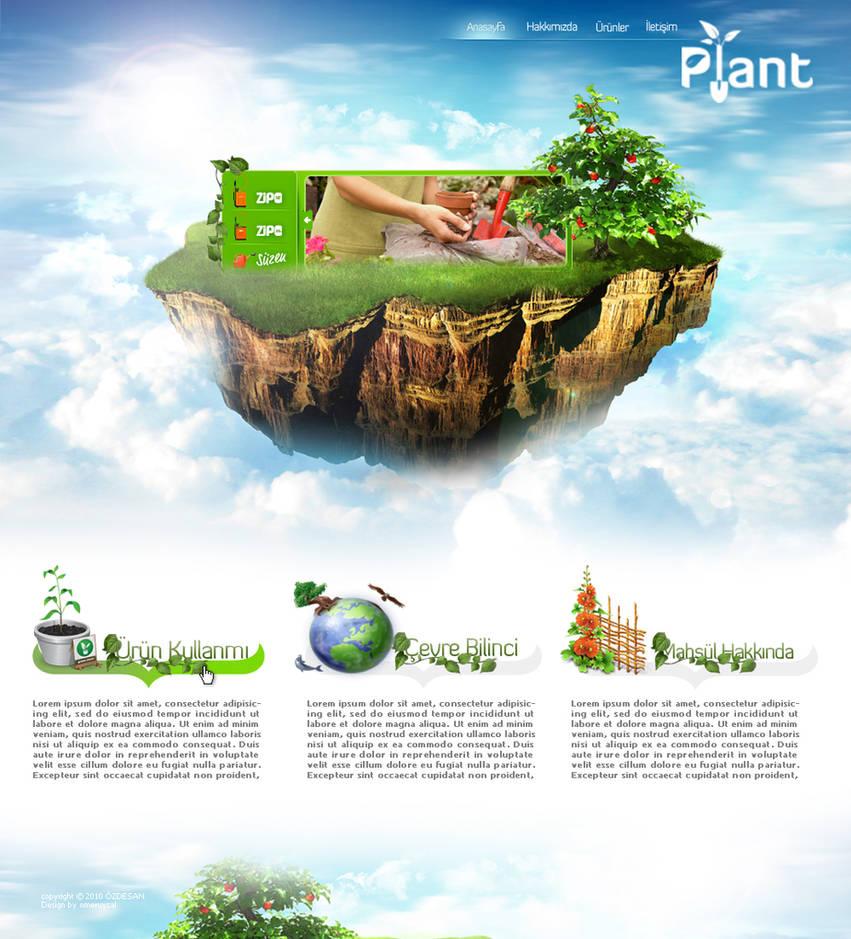 Plant Web by omeruysal