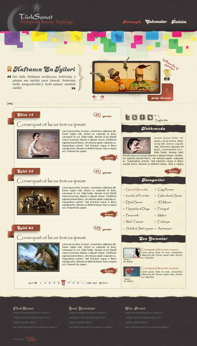 TurkSanat Blog by omeruysal
