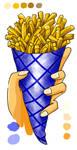 HotDogs' french fries... by baka-tschann