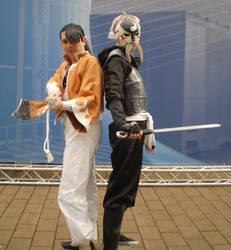 FMA Cosplay- Fu and Ling by baka-tschann
