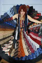The Tie lady by baka-tschann