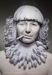 Paper smoking by baka-tschann