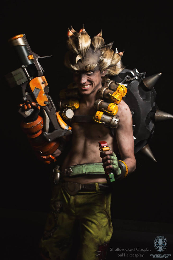 Junkrat Cosplay : Shellshocked + bakka by baka-tschann