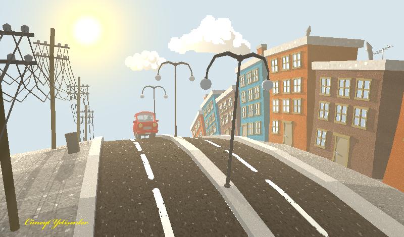 Pixel Town by TheodenN