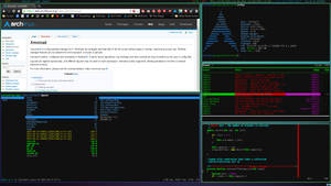 Arch + Xmonad (first deviation)