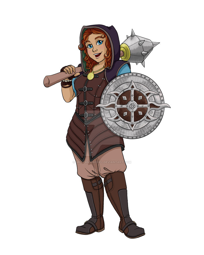 Hobbit Warrior Original Character by BrittanyMichel