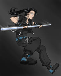 OC KH Character Design - Aila by BrittanyMichel