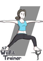 Everyone is Drawn: Wii Fit Trainer