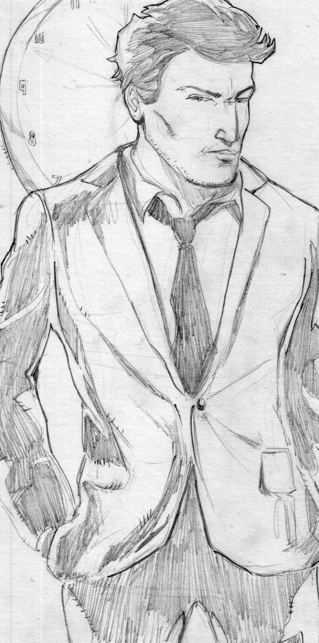 The Undone Kickstarter Reward Sketch by sire64