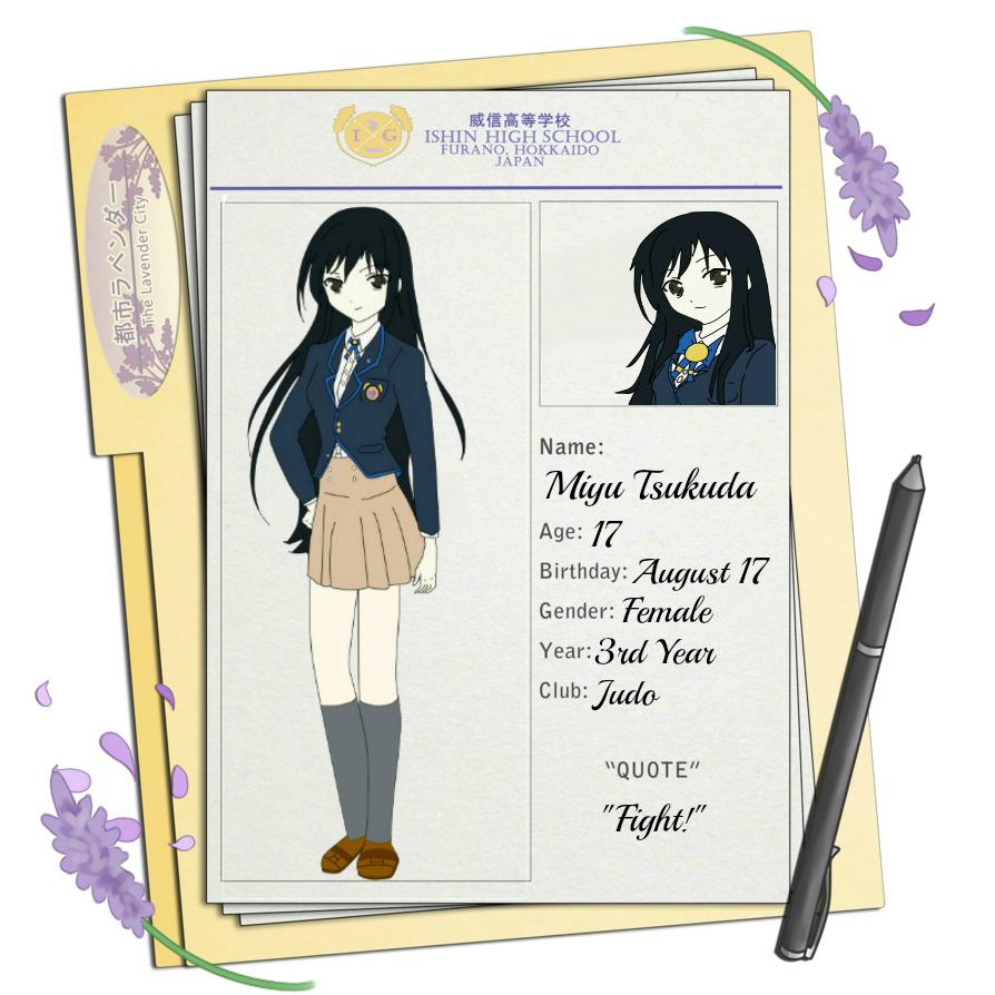 TLC App.: Miyu Tsukuda by toni48