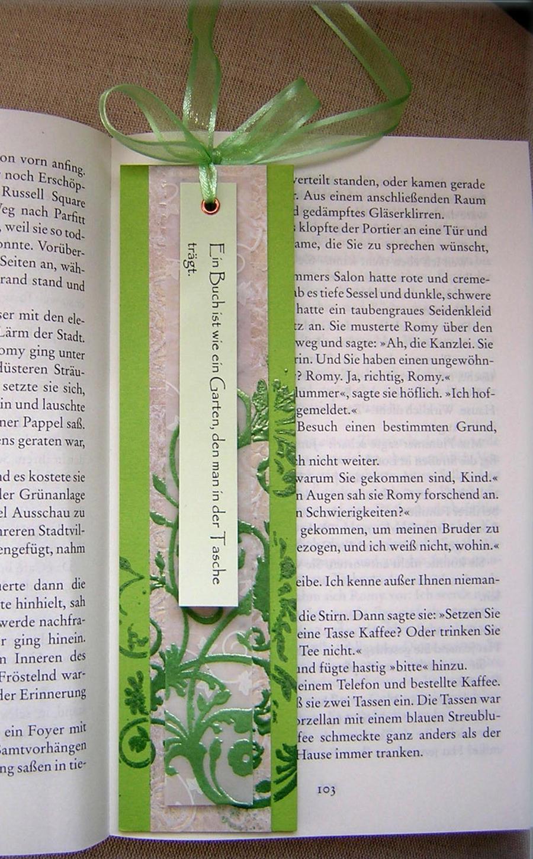 Bookmark -Green- by Marsie-HST