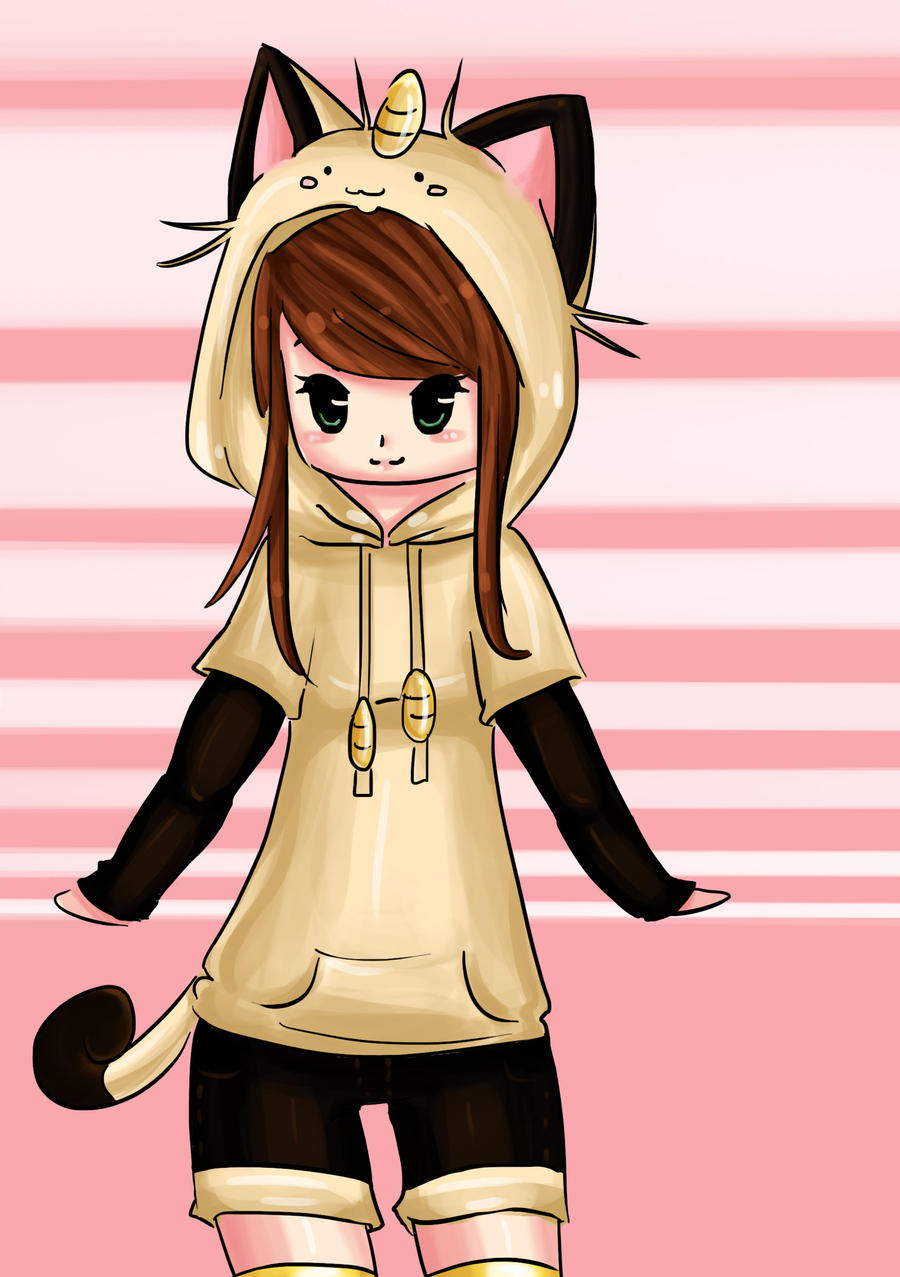 Anime with hoodie