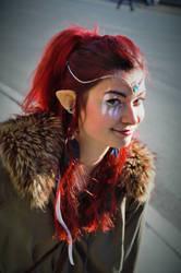 Elven Warrior by Shourei