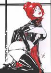 Jean Grey Black Queen