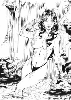 Wonder Woman - Commission Ink #1