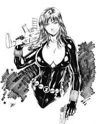 Black Widow by CaioMarcus-ART