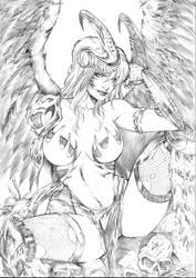 Angelus by CaioMarcus-ART