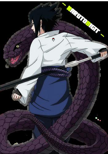 Son Kuso - Saiyajin Sasuke_Shippuden_Render_by_Narutobigit