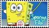Sponge Bob Fan Stamp by Narutobigit