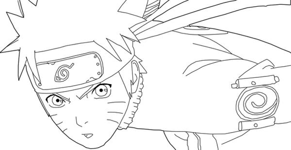 Dibujos De Kakashi Para Colorear: Bocetos Naruto Shippuden