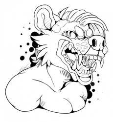 +Add to Favorites Fierce! by artsypanda21