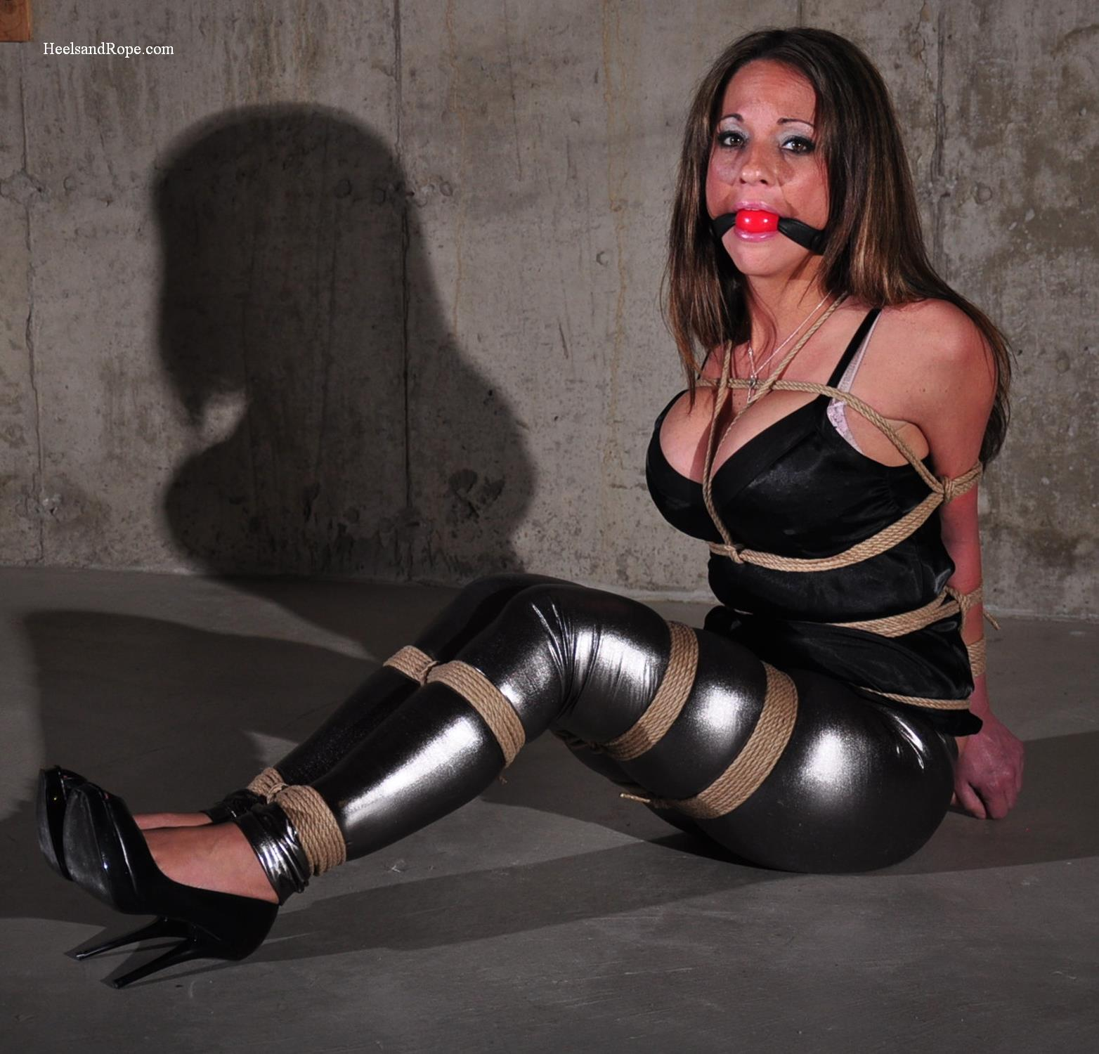 Tied up in spandex