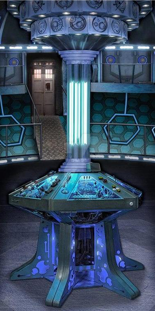 Tardis Interior 2013 By Gameover89 On Deviantart