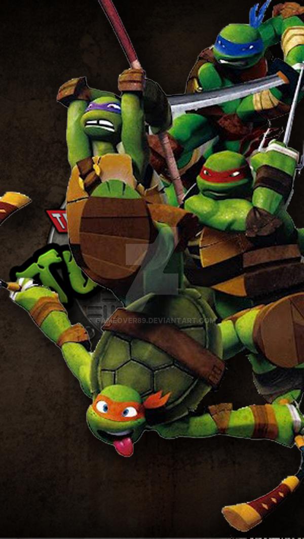 teenage mutant ninja turtles iphone 5 wallpaper by