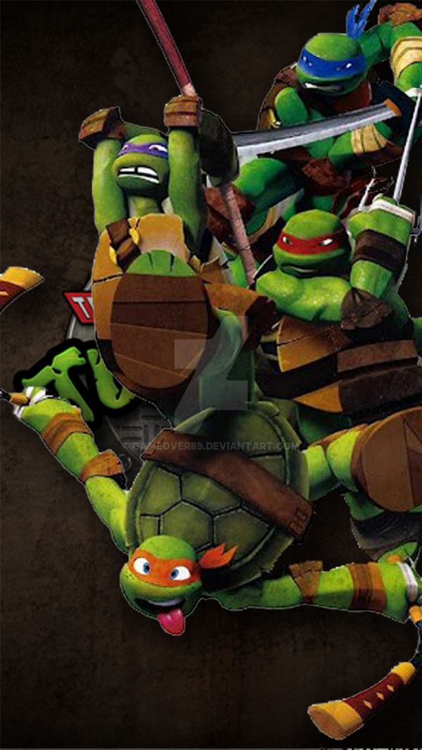 Teenage Mutant Ninja Turtles IPhone 5 Wallpaper By Gameover89