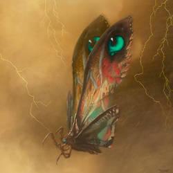 Mothra : Legendary by PiGeon-OC