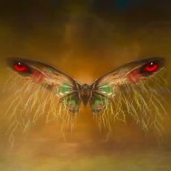 Mothra Thunder by PiGeon-OC