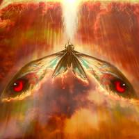Mothra Fire wings by PiGeon-OC