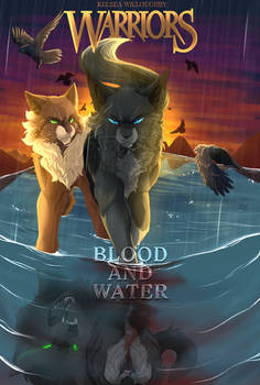 Warriors: Blood and Water Cover (Contest Entry-3)