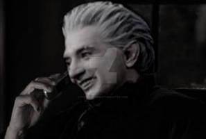 Frost talking to  Bladescream