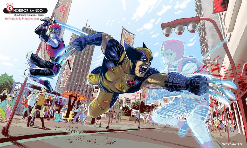 Ninja Combat by kikomauriz