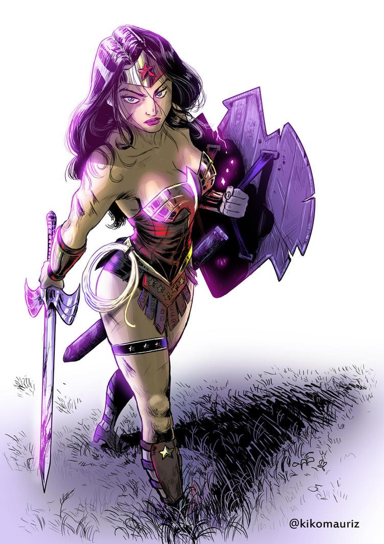 Wonder Woman by kikomauriz