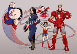 Super Family - Comission