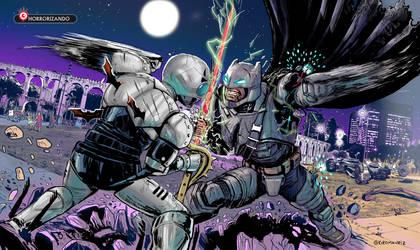 Batman vs Shadow Moon
