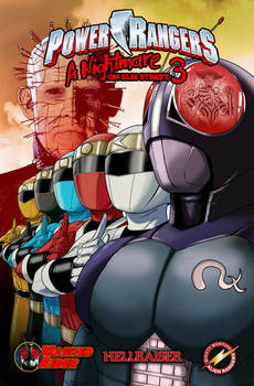 Power Rangers and Freddy Krueger 3 - cover