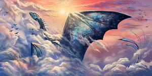 Sky dragon by Leysi