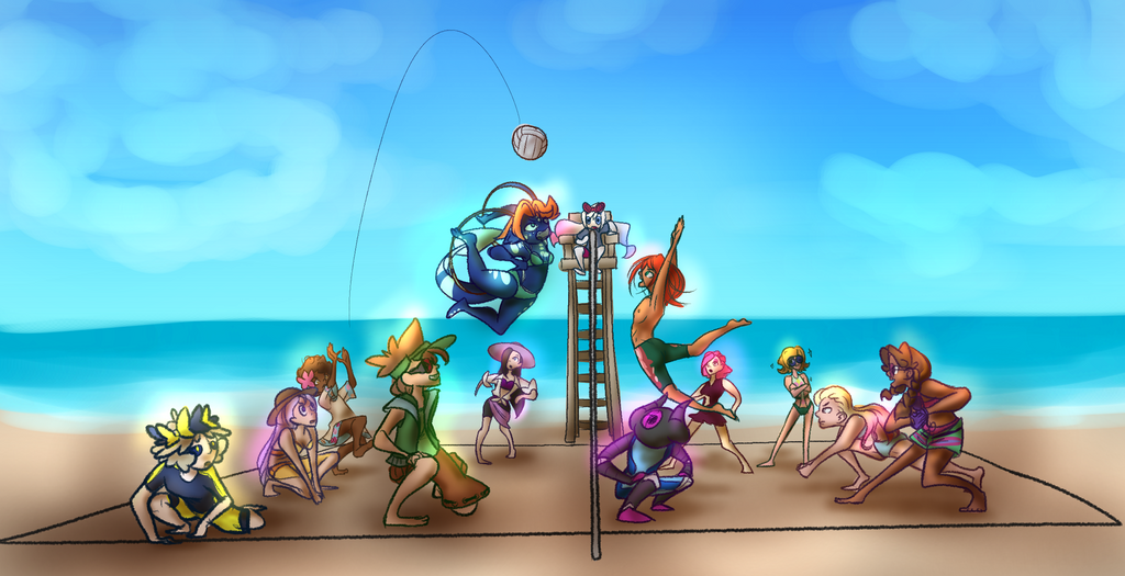 Paradise Beach! by PiePiyo