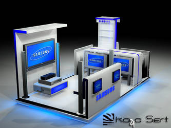 SAMSUNG STAND by kaysconcept