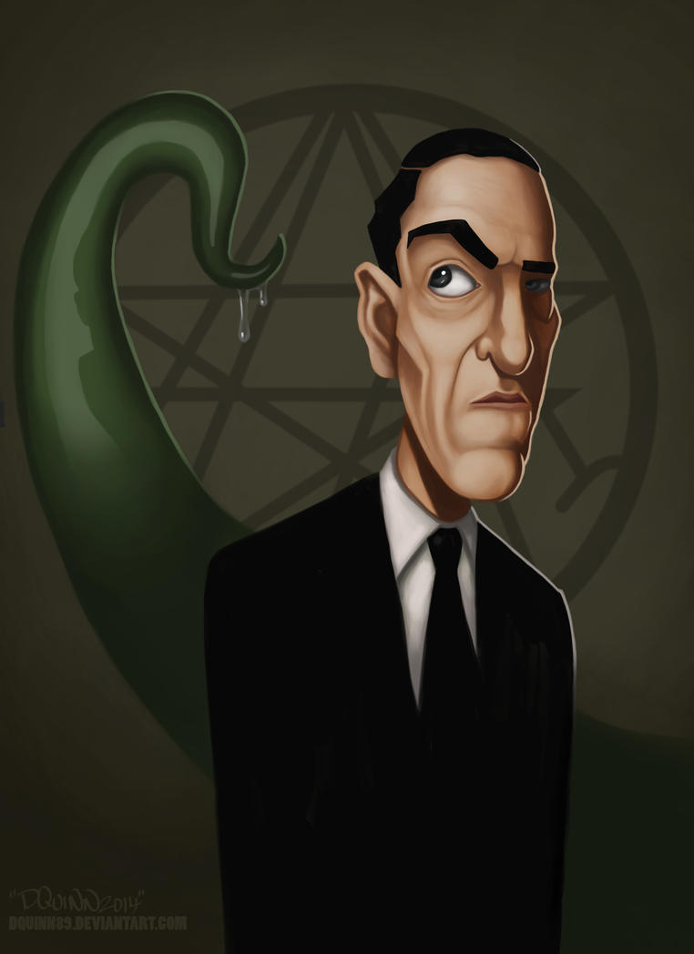 H.P. Lovecraft by DQuinn89