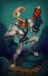 Earthworm Jim 2 by DQuinn89