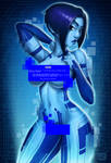 Cortana Pin-Up (NSFW preview) by Monolithic-Sloth
