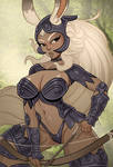 Fran pin-up by Monolithic-Sloth