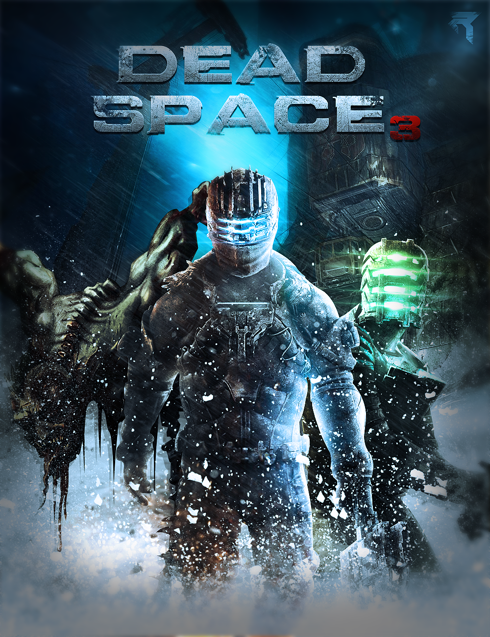Dead Space 3 Cover By Officialrated On Deviantart